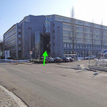 Eingang Bürgenstrasse