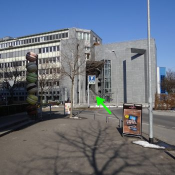Eingang Werkhofstr.